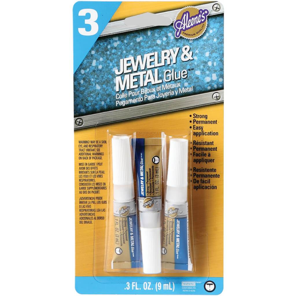 JEWELRY & METAL GLUE 3PK