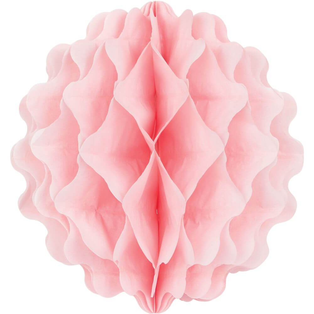 Paper Decor Ball 8in, Classic Pink