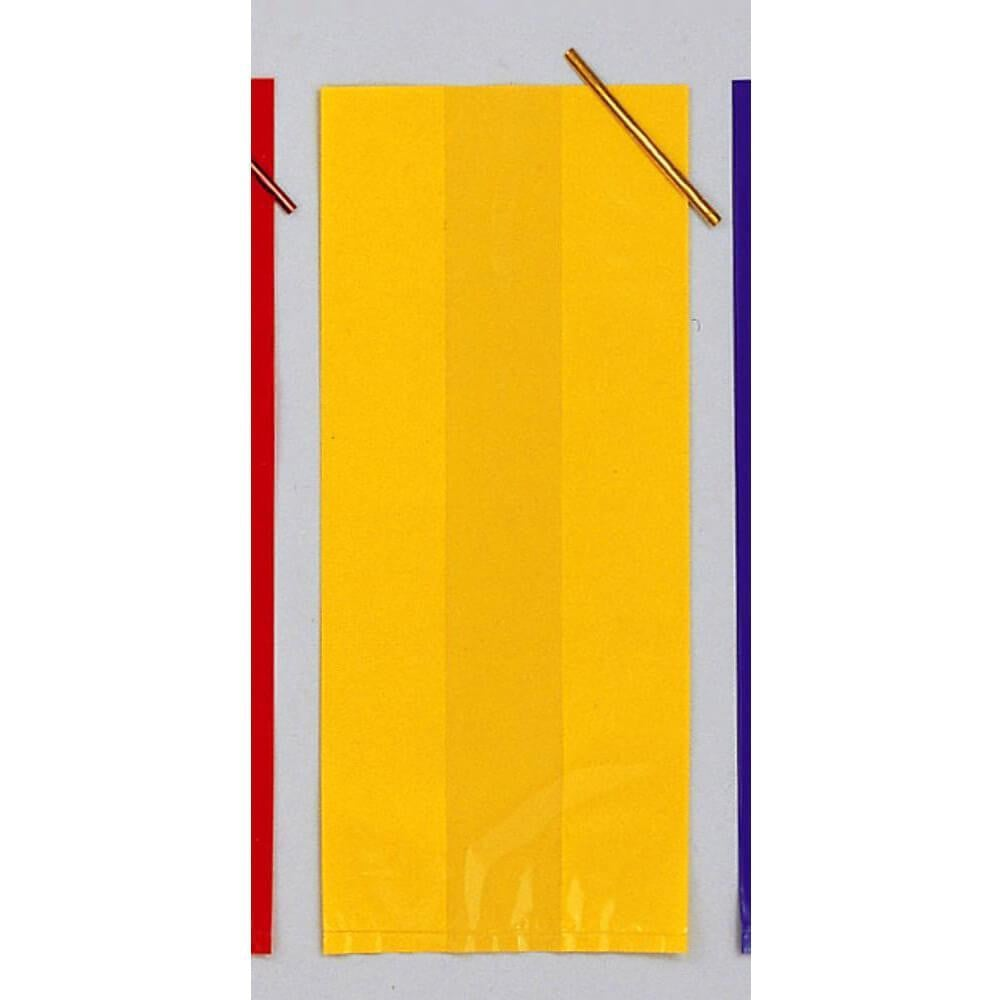 Cello Bags 20ct, Yellow