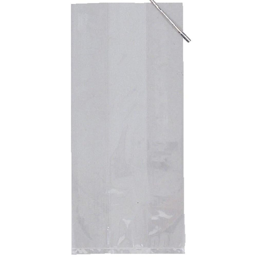 Small Cello Bags 20ct, Clear