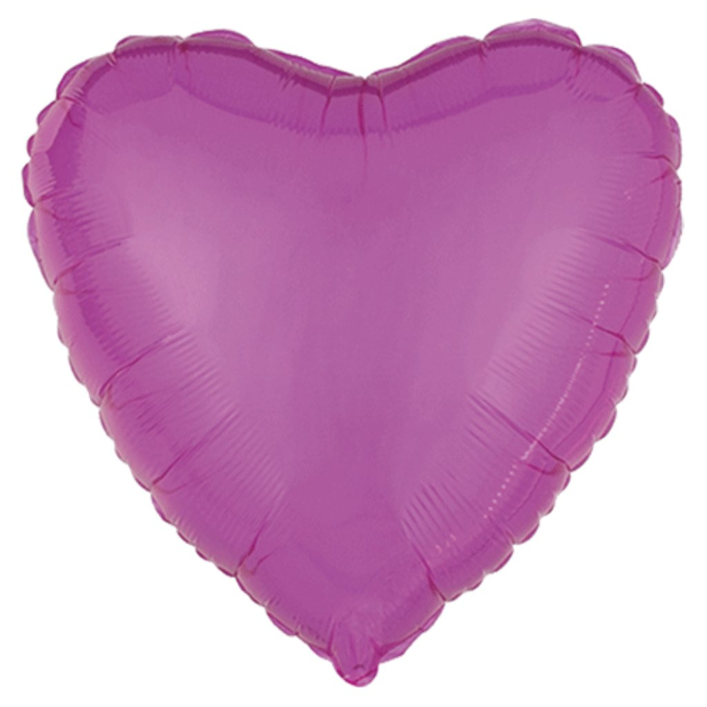Precious Pink Heart Bubble Balloon 18in