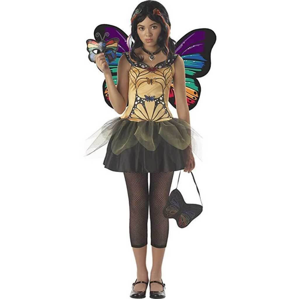 BUTTERFLY MASQUERADE FAIRY COSTUME