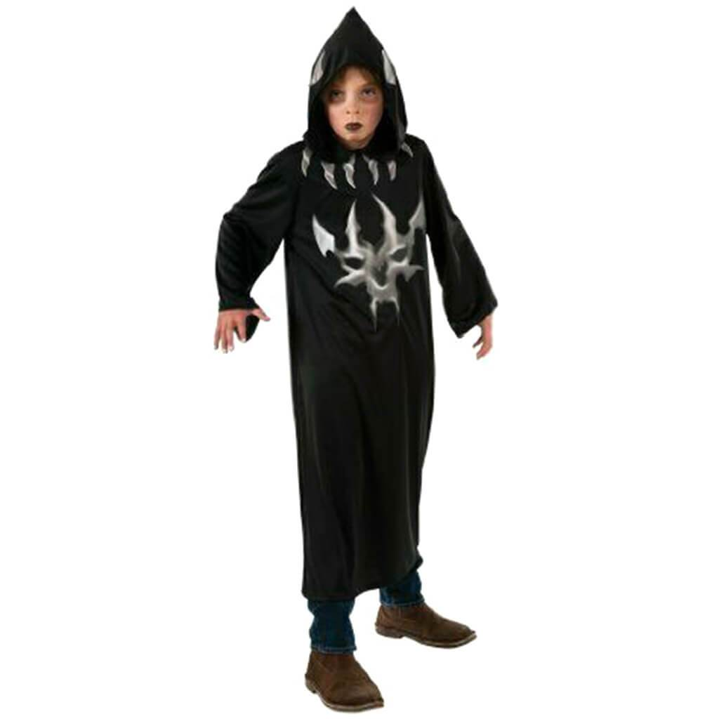 Black and Grey Devil Robe Costume