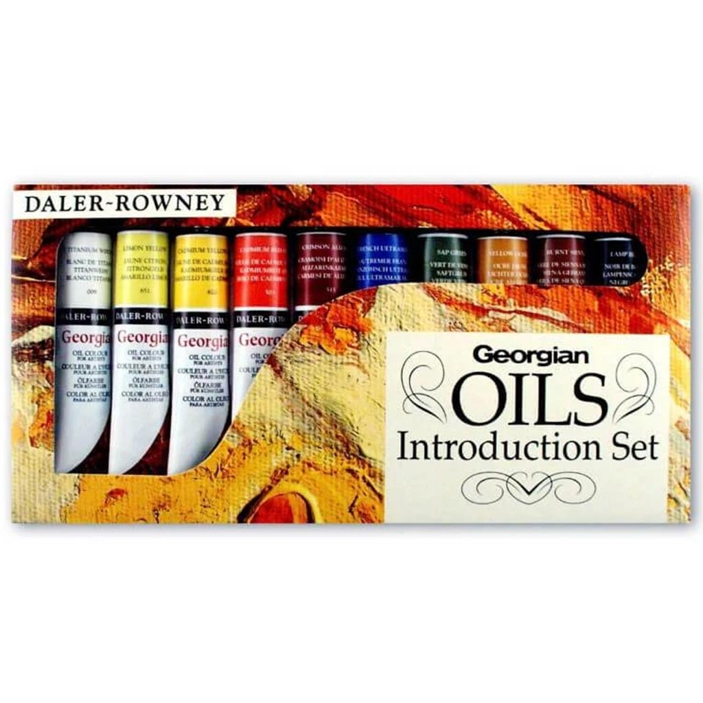 Georgian Oil Introduction Set 10in x 22ml Tubes