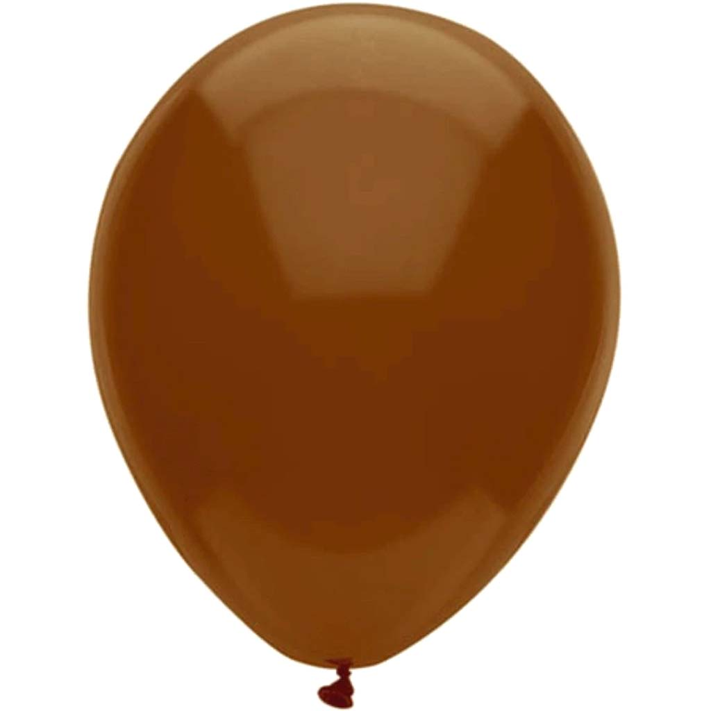 Latex Balloon Chestnut 11in