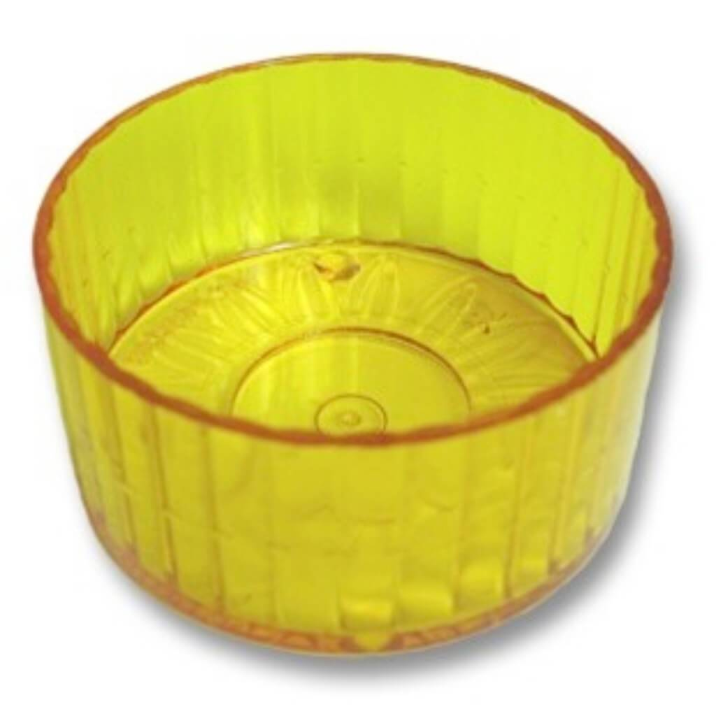 Tea Light Cups 25 Per Bag Yellow