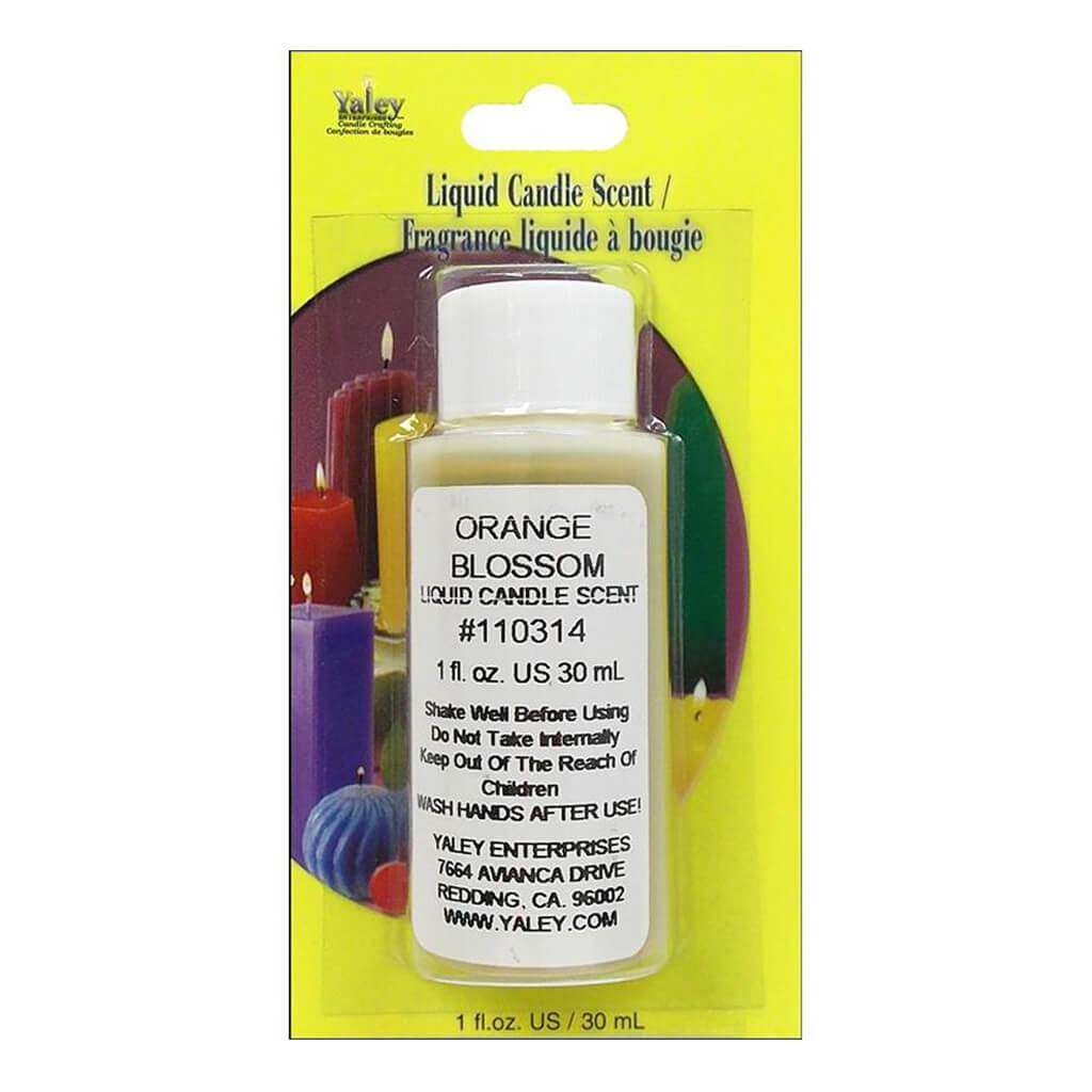 Liquid Candle Scent Orange 1Oz