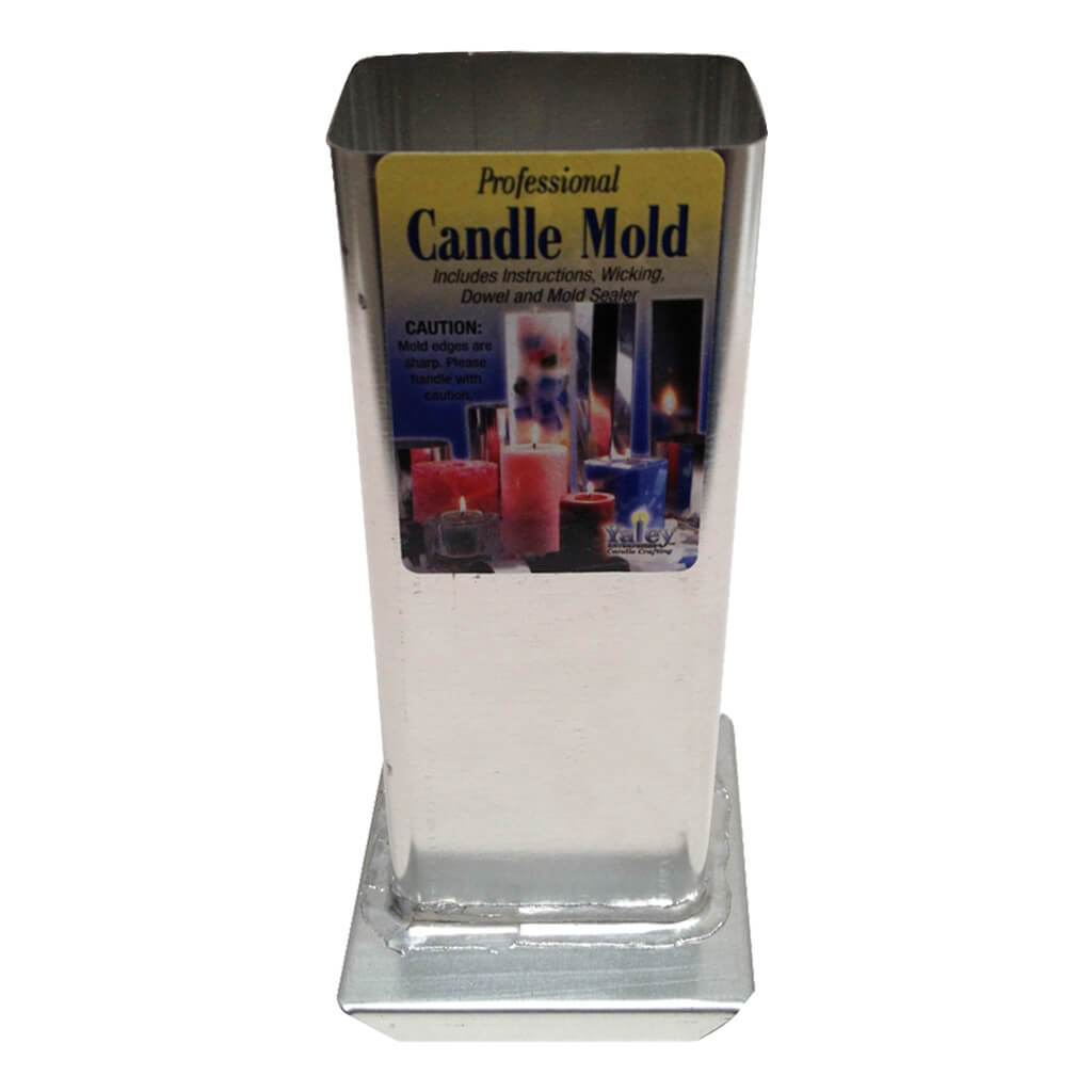 Candle Molder Rectangle 2X6 1/2