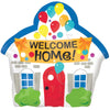 WELCOME HOME FOIL BALLOON 18IN
