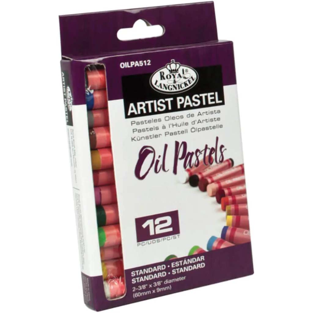 Oil Pastels Small 12pc