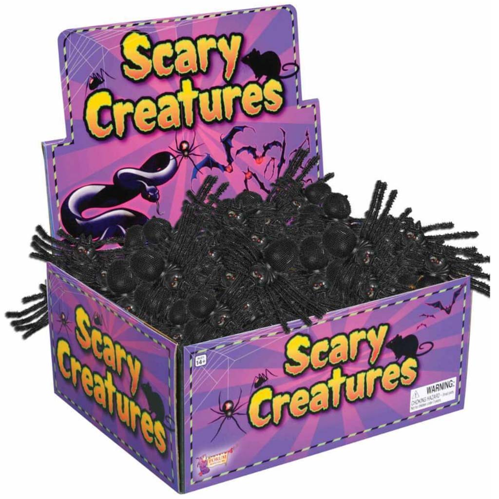 Scary Creatures Spider 10in