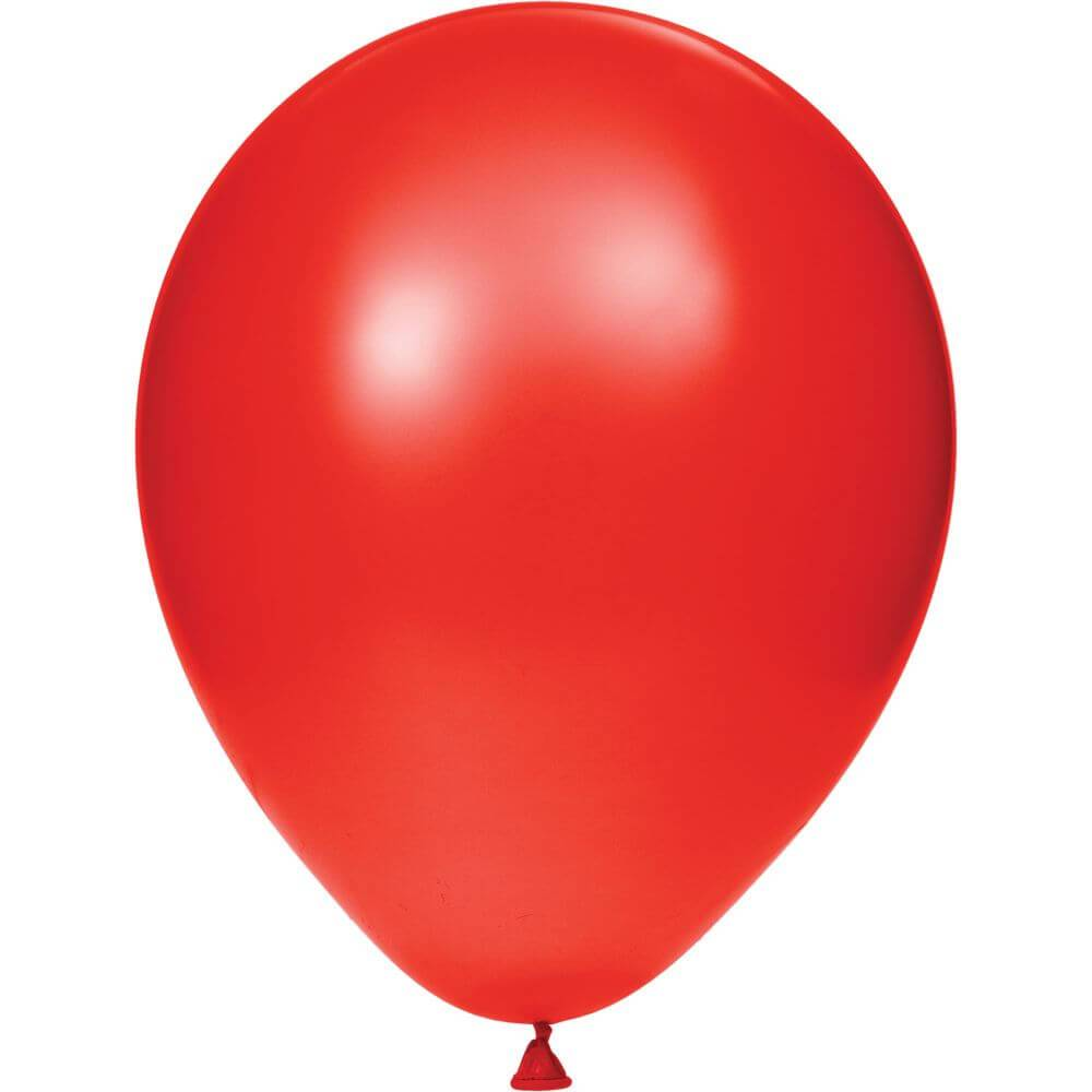 Latex Balloons 12in 15ct, Classic Red