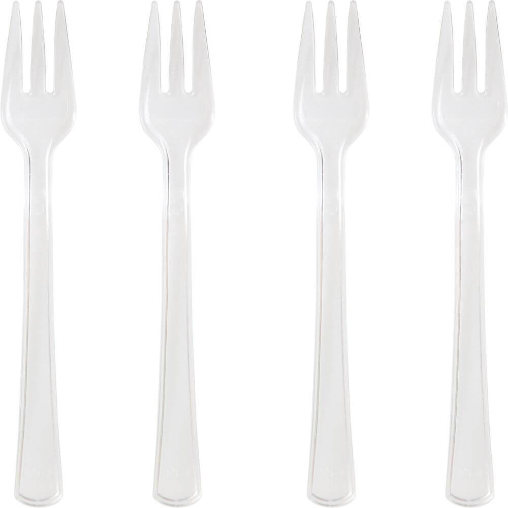 Mini Appetizer Forks 24ct