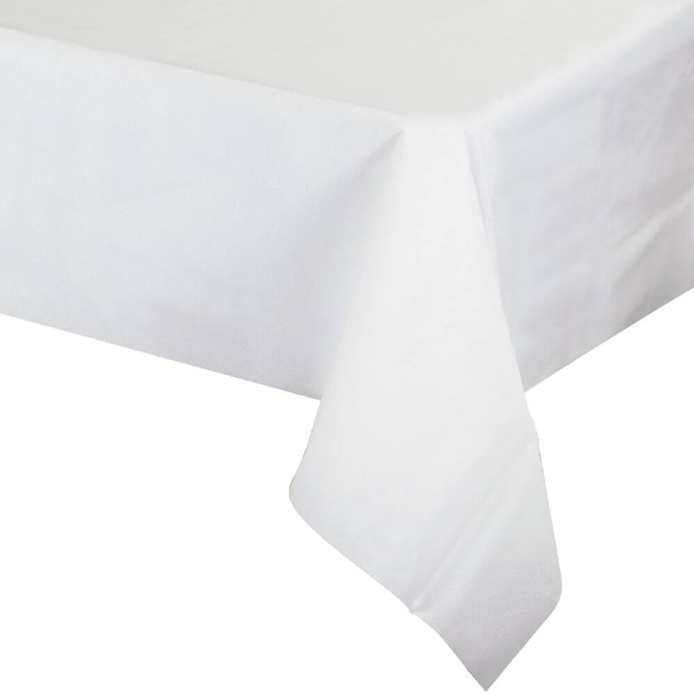 White Paper Tablecover 50in x 108in