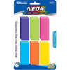 Eraser Pencil Neon Color 6Ct