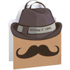 Cool Mustache Large Gift Bag