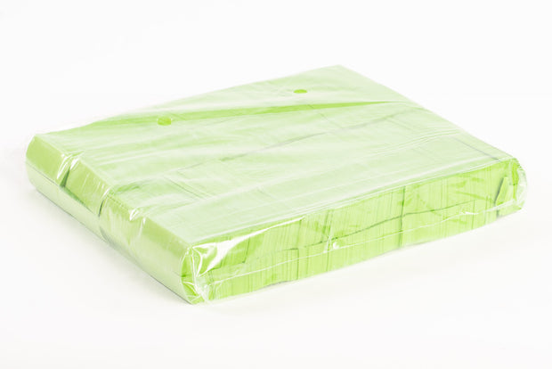 1kg bag of Green paper confetti slips