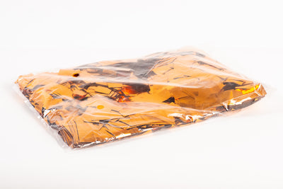 1kg bag of metallic Bronze Orange confetti slips