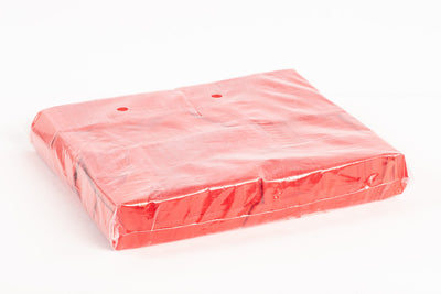 1kg bag of Red paper confetti slips