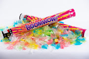 Multicoloured Eco Confetti cannon launcher/popper