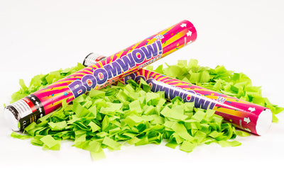 Lime Green Slip Confetti cannon launcher/popper