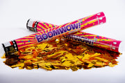 Metallic Gold Confetti cannon launcher/popper
