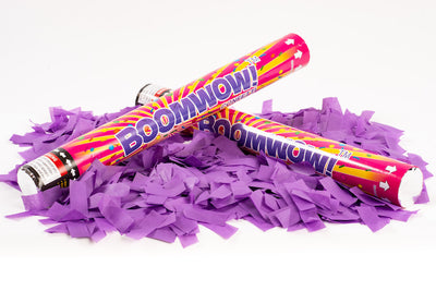 Purple Slip Confetti cannon launcher/popper