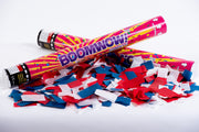 Red, White & Blue confetti cannon launcher/popper