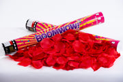 Red Rose Petals confetti cannon launcher/popper
