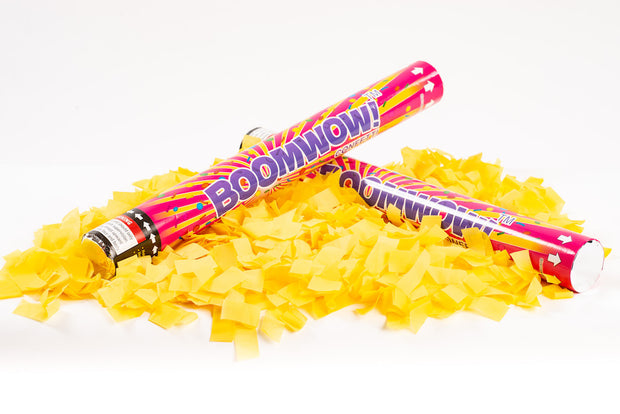 Yellow Slip Confetti cannon launcher/popper