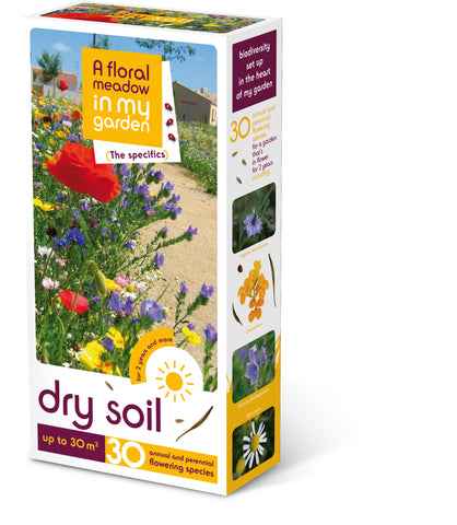 Dry Soil Seed Mix