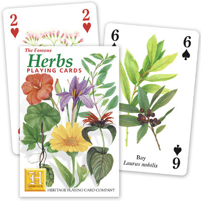 Playing Cards - Herbs