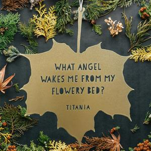 Leaf Quote - Titania