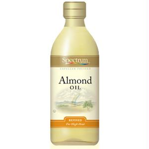 Spectrum Naturals Sweet Refined Almond Oil (12x16 Oz)