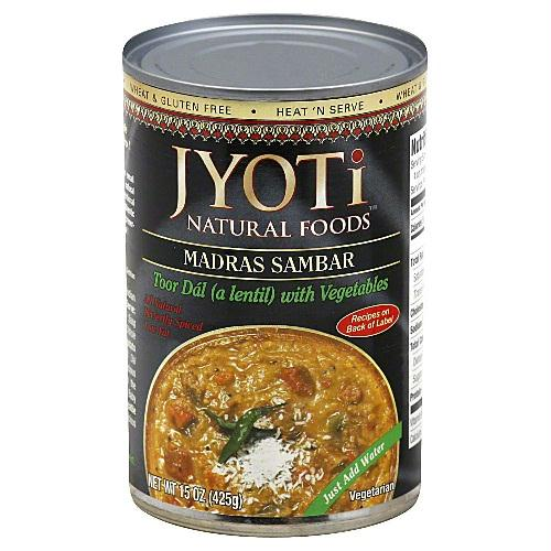 Jyoti Madras Sambar Lentils & Vegetables (12x15 Oz)