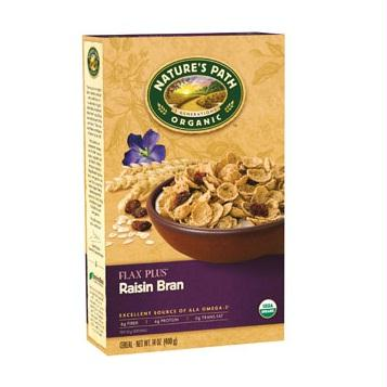 Nature's Path Flax Plus Raisin Bran Cereal (12x14 Oz)