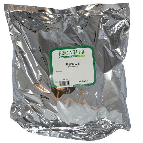 Frontier Herb Thyme Leaf C-s (1x1lb)
