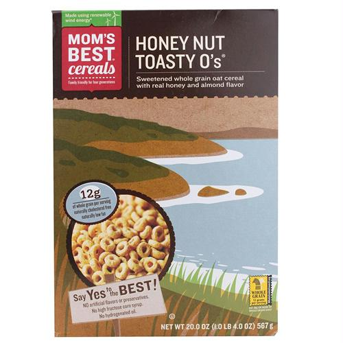 Mom's Best Naturals Honey & Nut Toasty O' Cereal (10x20 Oz)