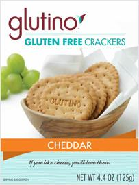 Glutino Cheddar Crackers (6x4.4oz)