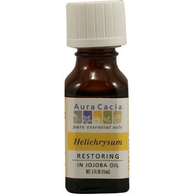 Aura Cacia Essentials Helichrysum In Jojoba Oil (1x.5 Oz)