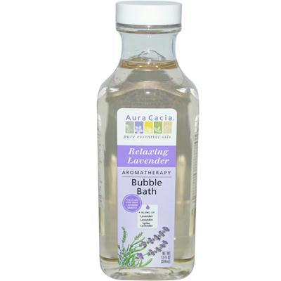 Aura Cacia Relaxing Lavender Bubble Bath (1x13 Oz)