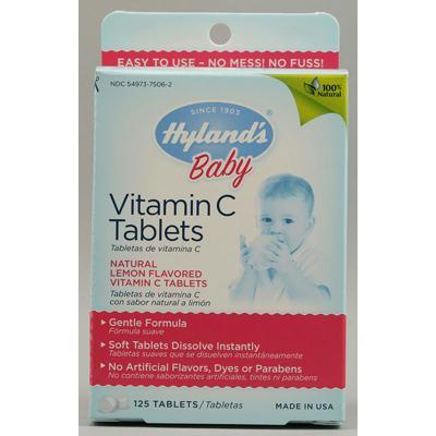 Hyland's Homeopathic Children Vitamin C (1x125 Tab)