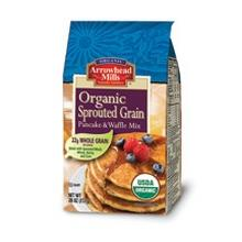 Arrowhead Mills Sprouted Pancake & Waffle Mix (6x26 Oz)