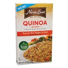 Near East Roasted Red Pepper & Basil Quinoa Blend (12x4.9 Oz)
