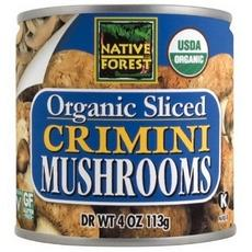 Native Forest Organic Sliced Crimini Mushroomss (12x7oz)