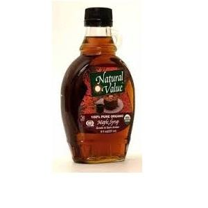 Natural Value A  Dark & Robust Maple Syrup (12x8oz)