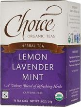 Choice Organic Teas Lemon Lavender Mint (6x16 Bag)