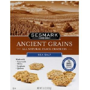Sesmark Foods Sea Salt (6x3.5 Oz)
