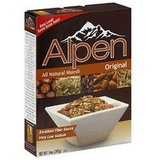 Weetabix Alpen All Natural Muesli Cereal Original  (12x14oz)