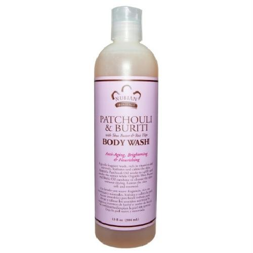 Nubian Heritage Nubian Patchouli & Buriti Body Wash (1x13 Oz)